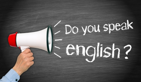 talk to the hand: Do you speak english