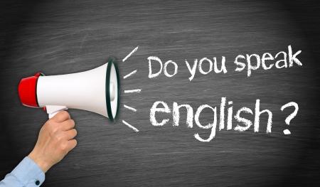 učit se: Mluvíte anglicky Reklamní fotografie
