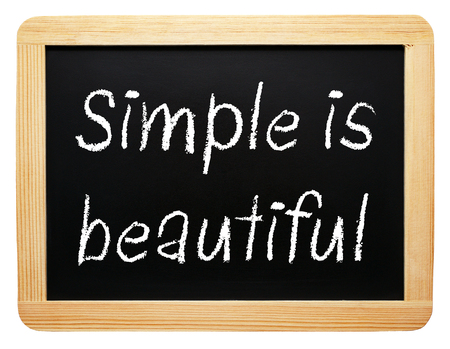 Simple is beautiful photo