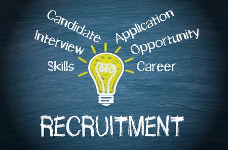 employ: Recruitment Stock Photo