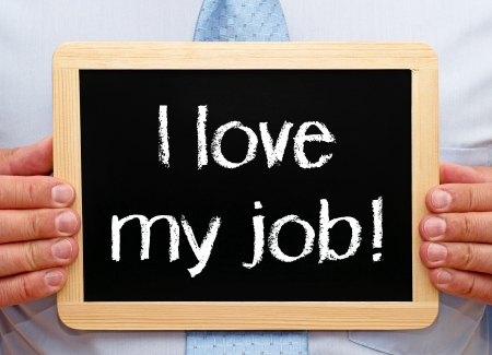 career person: I love my job
