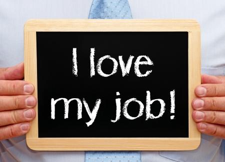 occupation: Ik hou van mijn werk