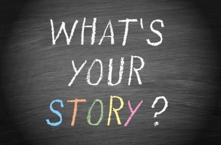 당신의 이야기는 무엇입니까