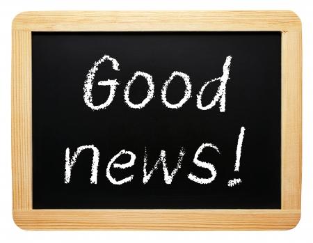 good news: Good news Stock Photo