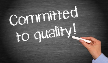 good quality: Committed to quality