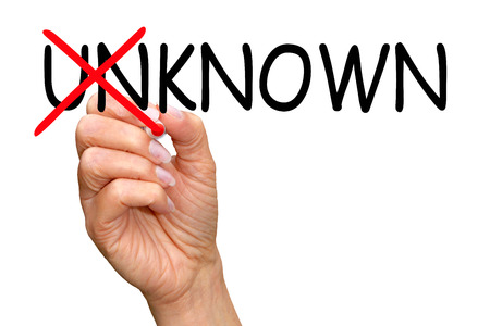 known: Known instead unknown