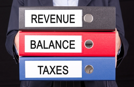 outflow: Revenue - Balance - Taxes
