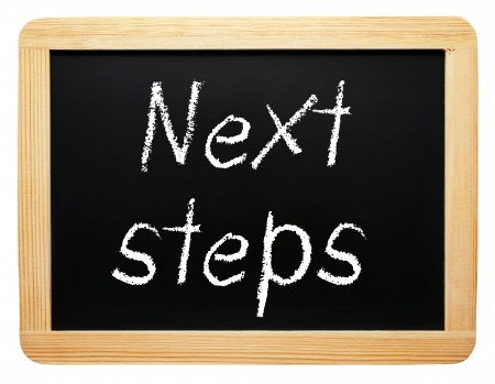 Next steps photo