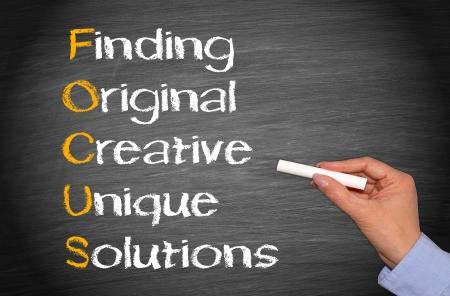 product development: FOCUS - Business Concept
