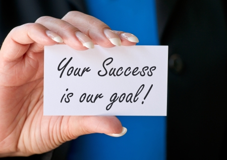 consulting team: Your Success is our goal
