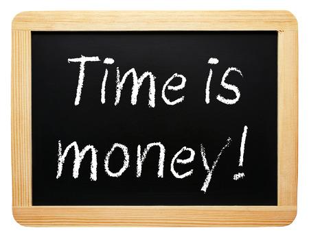 concepto: El tiempo es dinero