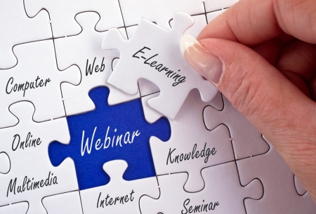 worldwideweb: Webinar - E-Learning Concept