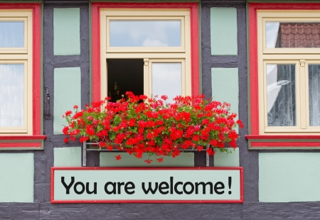 accomodation: You are welcome