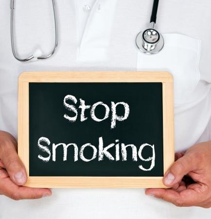non toxic: Stop Smoking Stock Photo