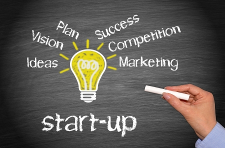 start up: Start-up - Business Concept