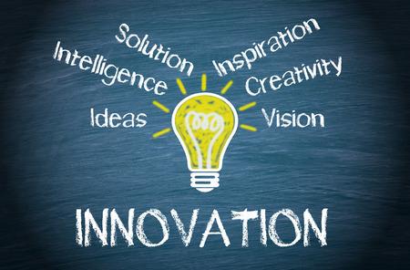 innovacion: Innovaci�n Foto de archivo