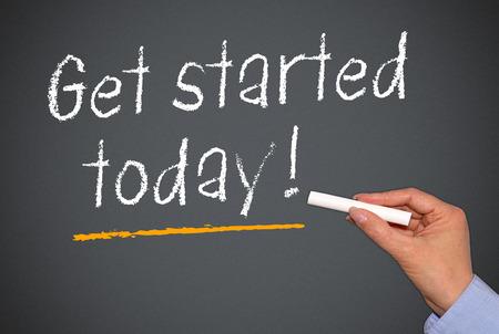 Begin vandaag