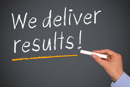 We deliver results   photo