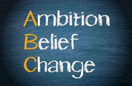 ABC - Ambition Belief Change photo