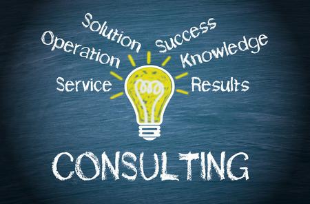 konzepte: Consulting - Business-Konzept