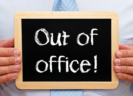 holidays vacancy: Out of office