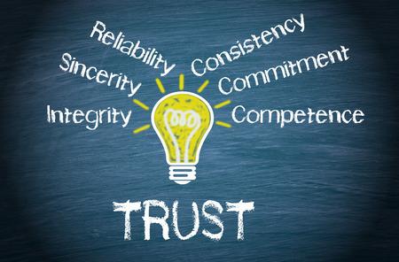 Trust - Business-Konzept