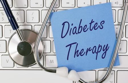 糖尿病治療 写真素材