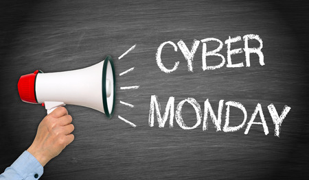 cyber business: Cyber Monday Stock Photo