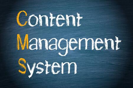 management system: CMS - Content Management System