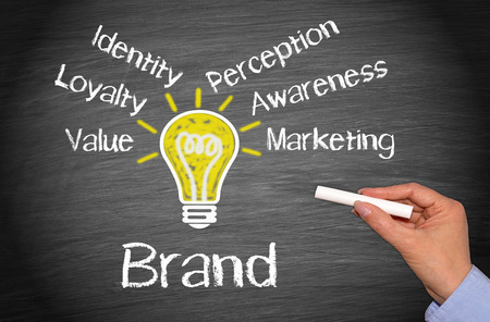 launch: Brand - Marketing Concept