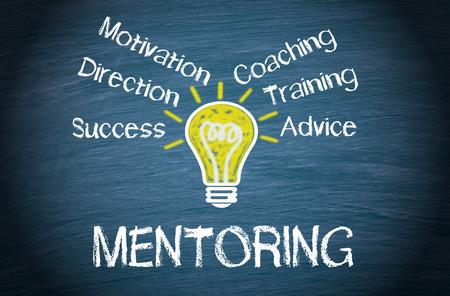Mentoring - Concepto de negocio Foto de archivo