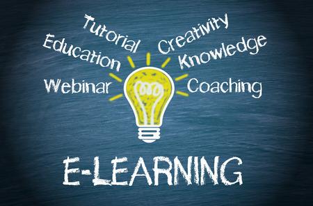 worldwideweb: E-Learning Stock Photo