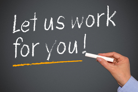 Laat ons het werk voor u