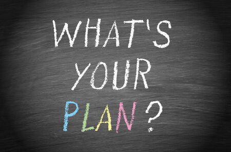 What is your plan   photo