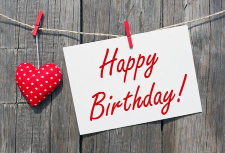 felicitaciones cumpleaÑos: Feliz cumpleaños Foto de archivo