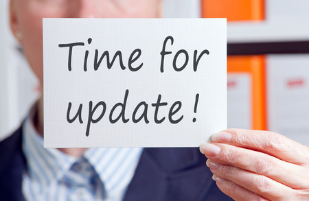 updates: Time for update