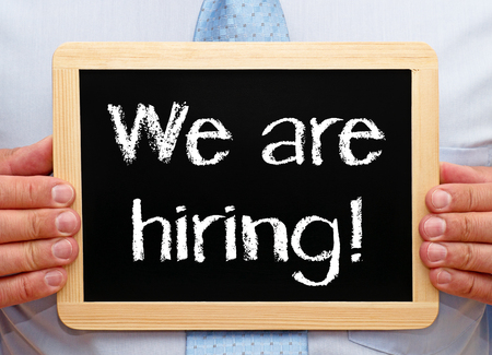 we: We are hiring