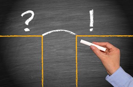 Problém a řešení - Business Concept Reklamní fotografie