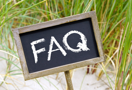 frequently asked question: FAQ - Frequently Asked Questions Stock Photo