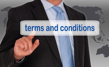 Termes et Conditions Banque d'images - 27420408
