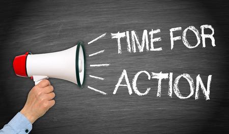 Tiempo para la acción
