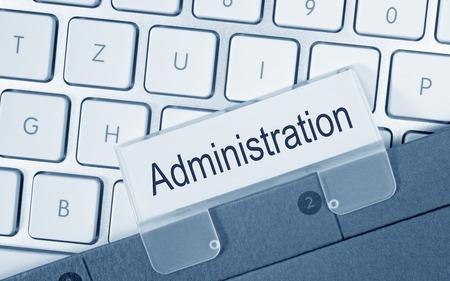 business administration: Administraci�n Foto de archivo