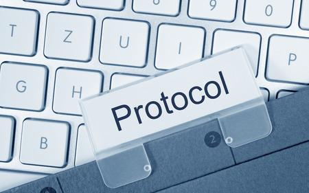 registros contables: Protocolo