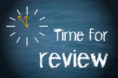 Tiempo para su revisión