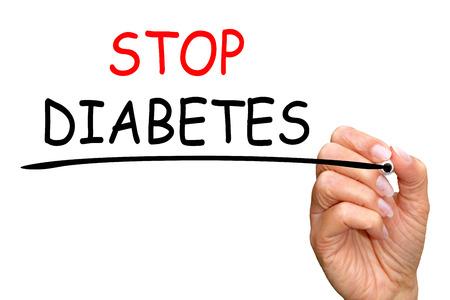 糖尿病を停止します。 写真素材
