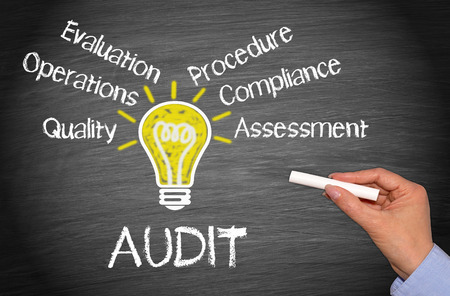 financial audit: Audit - Business Concept