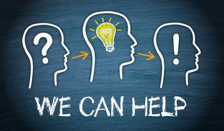 Nous pouvons vous aider