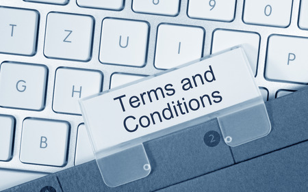 Terms and Conditions Stok Fotoğraf - 27713310