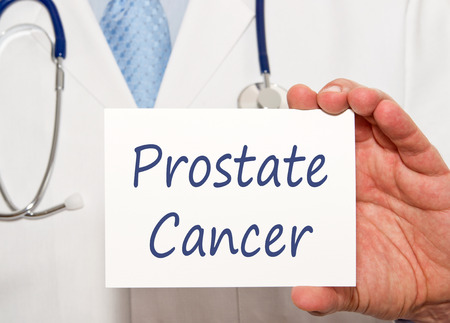 urology: Prostate Cancer Stock Photo