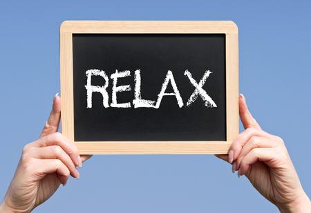 psyche: Relax Stock Photo